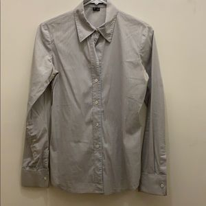 Theory button down with French cuffs